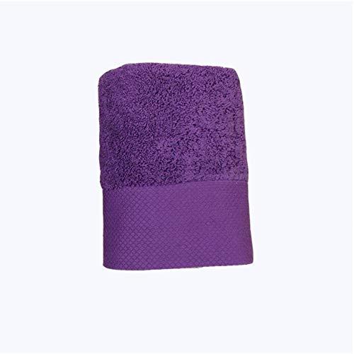 Salon Katoen Grijs Gezicht Handdoek Voetenbad Stomen Hotel Dikker Schoonheidssalon Bed Handdoekensets Badkamer Handdoeken 40x80cm-paars