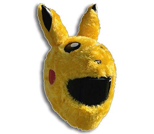 Pikachu-Helmabdeckung für Motorradhelme