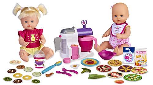 Nenuco - Hermanitas Traviesas en la Cocina, 2 Muñecas Bebé