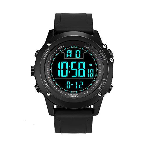 Armbanduhr FGHYH Herren Uhr Men Analog Digital Military Army Sport LED Waterproof Wrist Watch Uhr(B)
