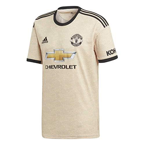 adidas Men's Manchester United Away Jersey 2019-20 (Medium) Linen