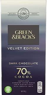 Green & Blacks | Dark Chocolate Bar - 70% Cocoa | 18 x 90g (ES)