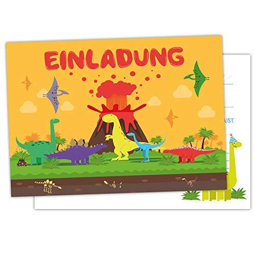 Pandawal Einladungskarte Dino (2)