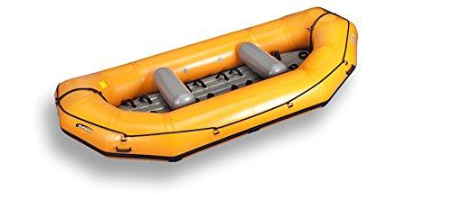 Krafting ® - rubberboten - Gumotex - PULSAR - Nitrilon® - krachting SLAUWBOOT STABIELO ® - 7 - PERZONEN - RENEN - BOOT voor Camping CARAVAN-OUTDOOR-vrije tijd - VERTRIEF HOLLY PRODUCTE STABIELO ® - Innovaties MADE in Duitsland - holly-sunshade ® kleur oranje -