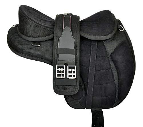 Wonder Wish - Freemax - Silla de montar a caballo de uso general, tamaño de 30,4 a 45,7 cm
