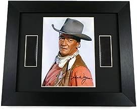 artcandi John Wayne Original Vintage Film Footage Memorabilia Framed
