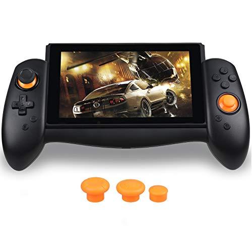 Zacro Controlador de Mando para Switch, Reemplazo de Stick, con Vibración de Doble Motor, Type-C Cable,3 Tapas diferente de Stick