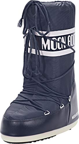 Moon Boot 140044, Stivali Invernali Unisex, Materiale suola: Gomma, Blu (BLUE JEANS 64), 42-44