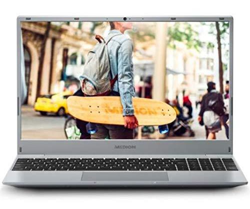 """Medion Akoya E15301 MD62020 Plata Portátil 15.6"""" FullHD Ryzen 5 3500U 256GB SSD 8GB Ram HDMI USB FreeDos"""