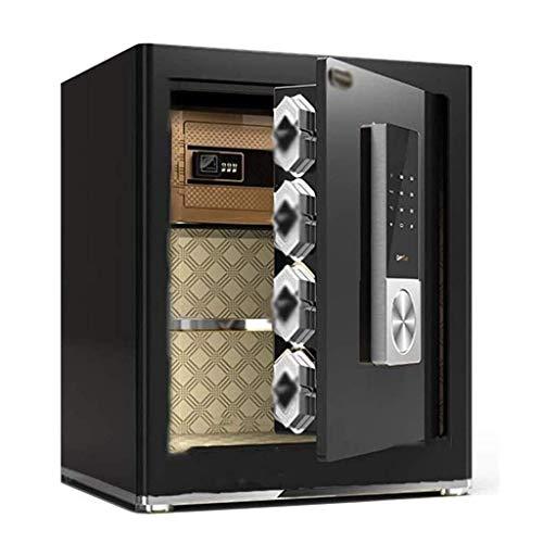 Cajas fuertes de gabinete, cajas fuertes grandes, oficina en casa, caja fuerte antirrobo, mesita de noche de acero, invisible de 45 cm de alto en la pared, nueva caja de seguridad con identificación d
