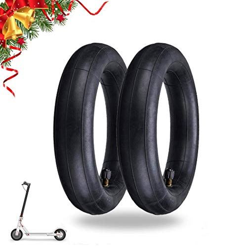 aibiku 8.5-Inch Thickened Inner Tubes for Xiaomi M365 / Gotrax Electric Scooter Inflated Spare Tire 8 1/2 x 2 (Pair)