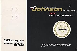 1972 JOHNSON SEA-HORSE 50 HP OUTBOARD OWNERS MANUAL (103)