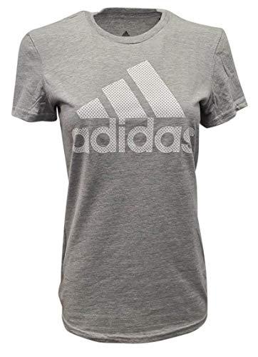 adidas womens Go-To Tee Medium Grey Heather XX-Large