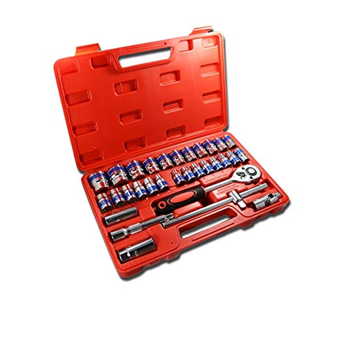 IOIOA 32 Pcs Socket Spanner Set, 1/2\