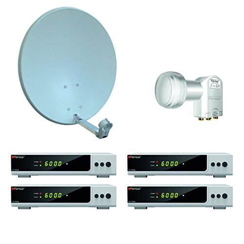 300 x 50 mm con piastra 400x200 mm Supporto da parete satellitare 600 mm per esterni Nedis
