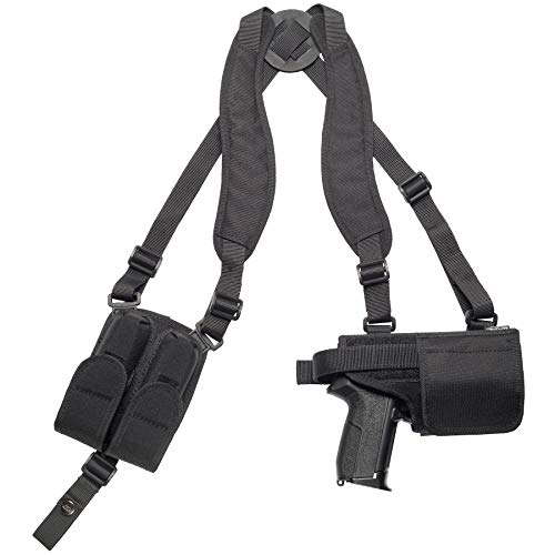 Craft Holsters CZ 75 SP-01 (Cocked and Locked) Compatible Holster - Nylon Light/Laser Shoulder Rig (657/486)