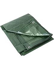 Labor 0300152 dekzeil met ogen, 100 g, groen, 4 x 5 m