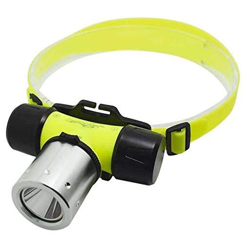 wwwl Lampe Frontale High Bright XML T6 1000 Lumen LED Headlamp Waterproof Underwater Diving Headlight Frontal Head Torch Lamp Light 18650 BHeadlamp