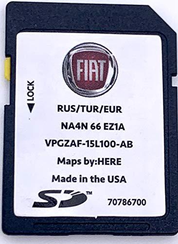 SD Karte GPS FIAT Spider 124 - Europe 2018 - NA4N66EZ1