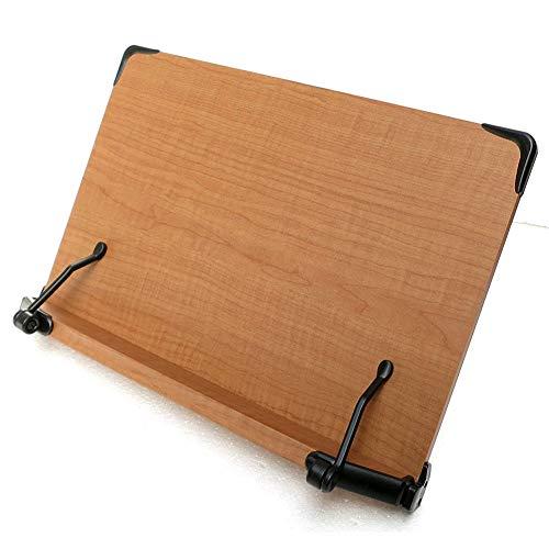 ブックスタンド ストッパー 書見台 本 ホルダー 本立て 着脱式 多用途 取り外し可能で簡単 折りたたみ式 携帯用に便利 読書台 料理レシピ, ノートパソコン, タブレット, アイパッド, テキストブック用 ホルダースタンド (40 ? 27cm)