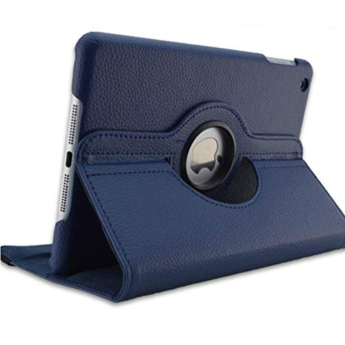 Smart Case for iPad Mini 3 2 1 PU Leather Cover Auto Sleep Protective Shell for Apple iPad Mini1 Mini2 mini3 7.9 inch tablet-dark blue