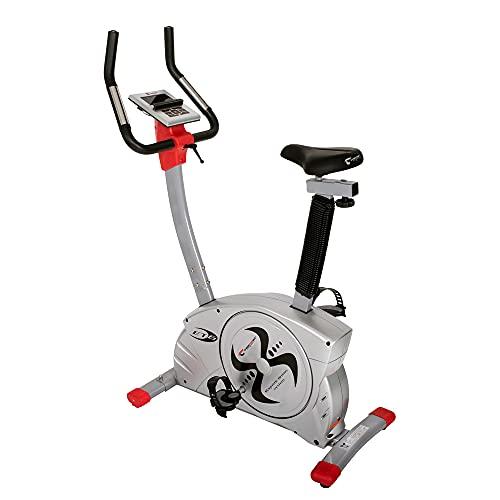Christopeit Sport Ergometer ET 6 – Heimtrainer 24-Stufig, bis 150kg Gewicht, 12kg Magnet-Bremssystem, LCD-Display