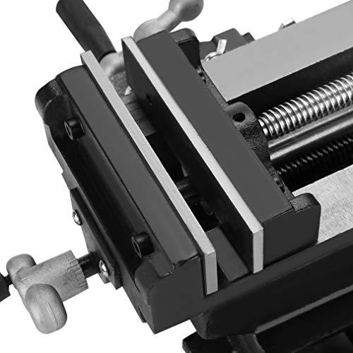 Máquina Tornillo de banco de 2 ejes para tornillo de cruz mesa ...