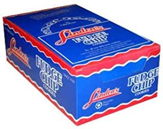 Linden's Fudge Chip Cookies 3 Cookies Per Pack (Pack of 18)