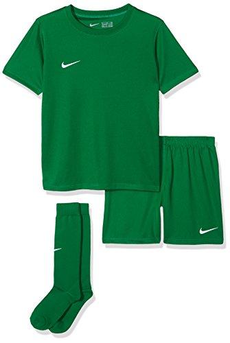 Nike Kinder Park Kit Trikotset, Grün (Pine Green/White), S (104-110)