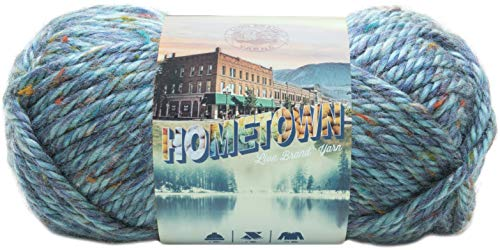 Lion Brand Yarn Hometown Yarn, 1-Pack, Key Largo Tweed