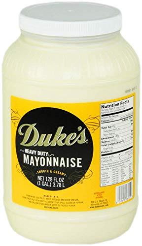 Duke's, Heavy Duty Mayonnaise, 1 Gallon