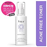 Kaya Clinic Acne Free Purifying Toner, Alcohol free Toner for acne prone