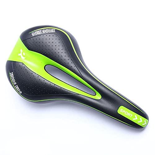 Bestine Asiento de sillín de montaña hueco con diseño ergonómico para bicicleta de carretera y bicicleta plegable