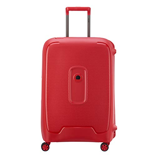 Delsey Paris Moncey Suitcase, 69 cm, 86 L, Red Stars