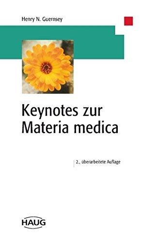 Keynotes zur Materia medica by Stefan Reis Henry N. Guernsey (1999-07-15)