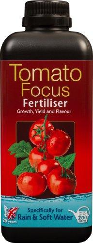 Growth Technology Pomodoro Focus Fertilizzante per Pioggia e Acqua Dolce, 1 litro