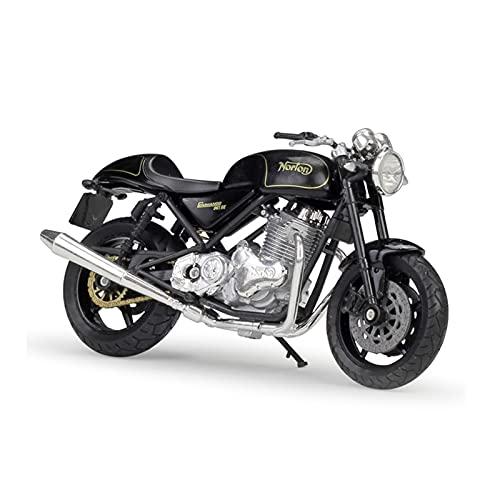 El Maquetas Coche Motocross Fantastico 1:18 para Norton Commando 96 SE Aleación Street Sports Modelo Motocicleta Juguete para Niños Colección Decoración Regalo Regalos Juegos Mas Vendidos