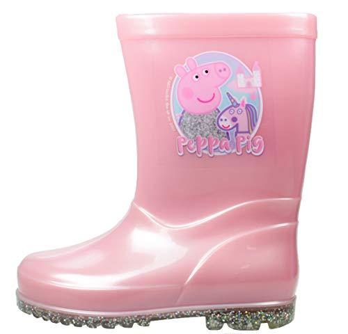 Peppa Pig Chaussures de princesse licorne magique Rose - Rose - rose, 27 EU