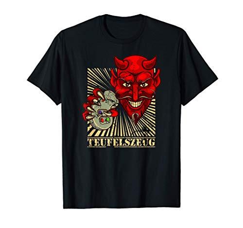 Gamer Zocker Teufel Devil Controller Hölle Teufelszeug Game T-Shirt