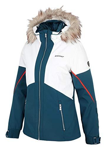 Ziener Damen Tanda Skijacke blau 40