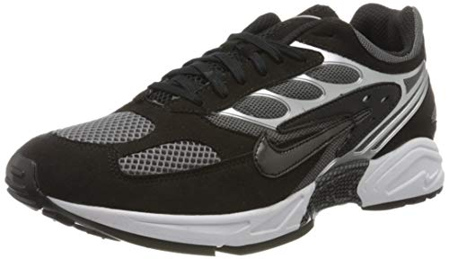 Nike Herren Air Ghost Racer Traillaufschuhe, Mehrfarbig (Black/Black/Dark Grey/White 2), 43 EU