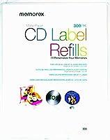 CD/DVDホワイトマットラベル300枚(空白メディア)。