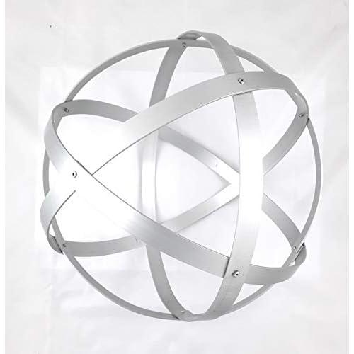 Genesa Crystal, Purificatore energia, Dispositivo orgonico 32 cm diametro, Argento
