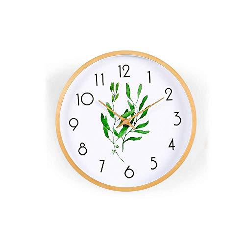 Reloj (sin Tic-TAC) 12 Pulgadas, Utilizado para Decoración De Cocina, Sala De Estar, Baño, Dormitorio, Oficina (tamaño: S), Práctico