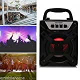 Redmaine MS-304BT Portable Bluetooth Speaker with LED Lights 3