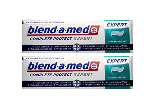 2x blend-a-med Complete Protect EXPERT Tiefenreinigung Zahnpasta 75ml