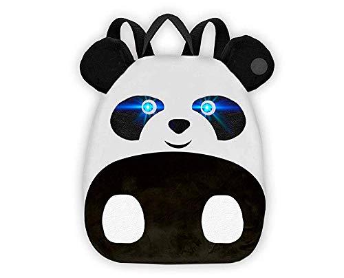 Bauernhof Tiere Kindergarten Panda Rucksack | Licht Und Ton Rucksack | Spaß Interaktiver 3D Vorschulrucksack | Kinder Kleinkinder Reisen Schultasche |