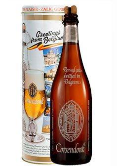 Bier Geschenk Set Corsendonk Agnus 0,75 l in Metalldose