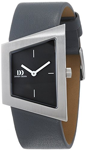 Danish Design Damen Analog Quarz Uhr mit Leder Armband IV14Q1207