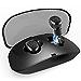 ABCShopUSA Wireless Earbuds True, 3D Stereo Sound Headphones Touch Control Wireless Sport Earbud, Black (Renewed)